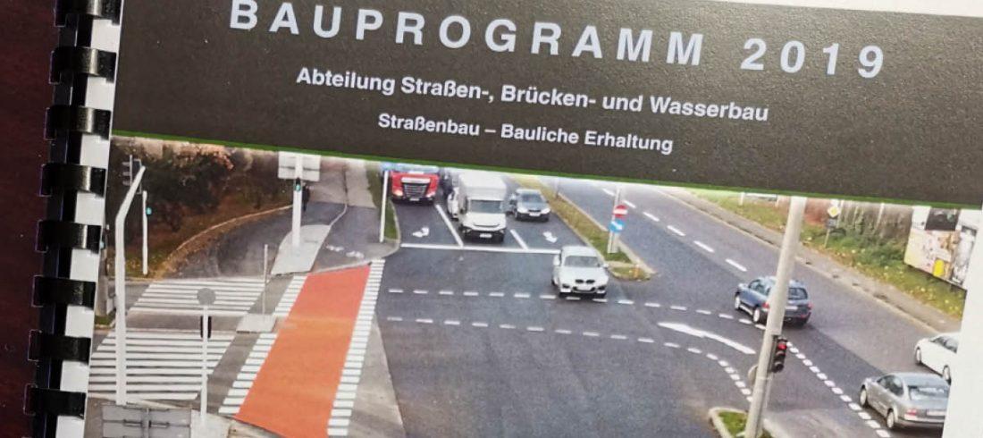 Bauprogramm 2019