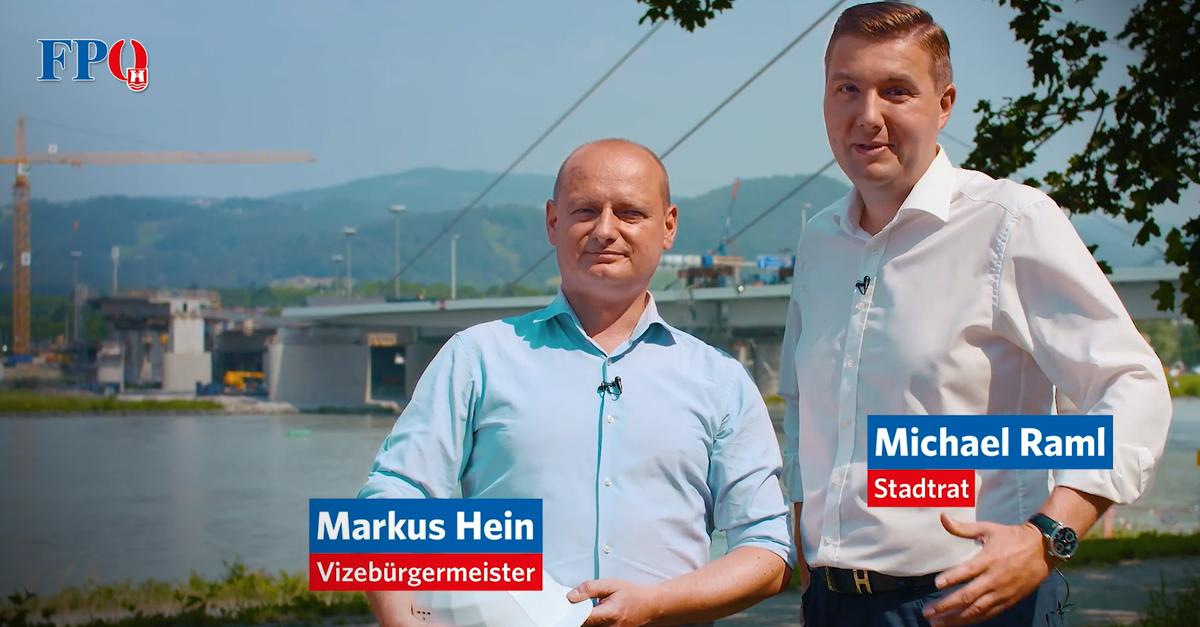 Markus Hein und Michael Raml: Wir bringen Linz vorwärts!