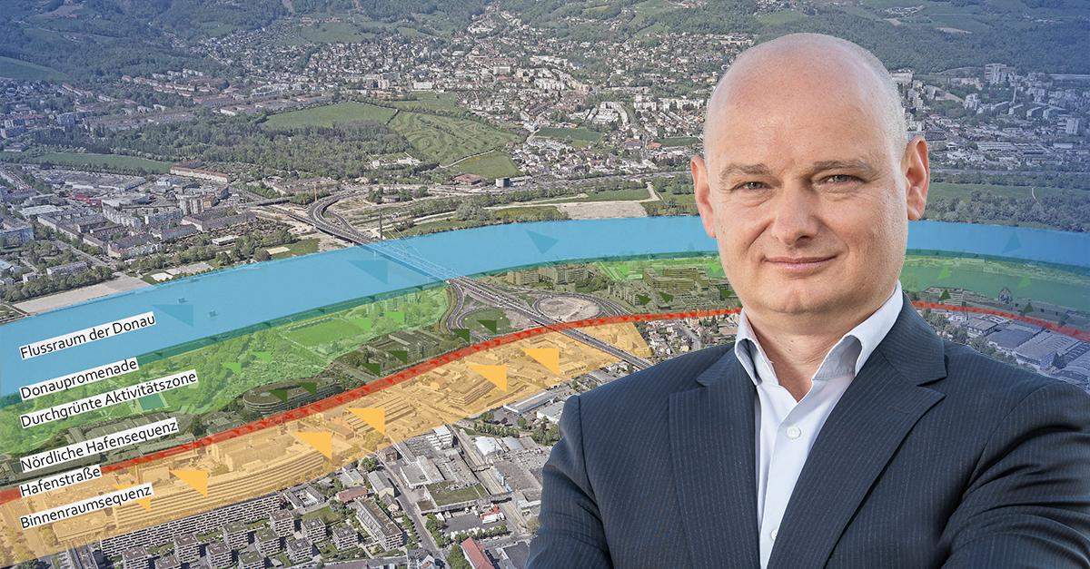 Neues Donautor für Linz