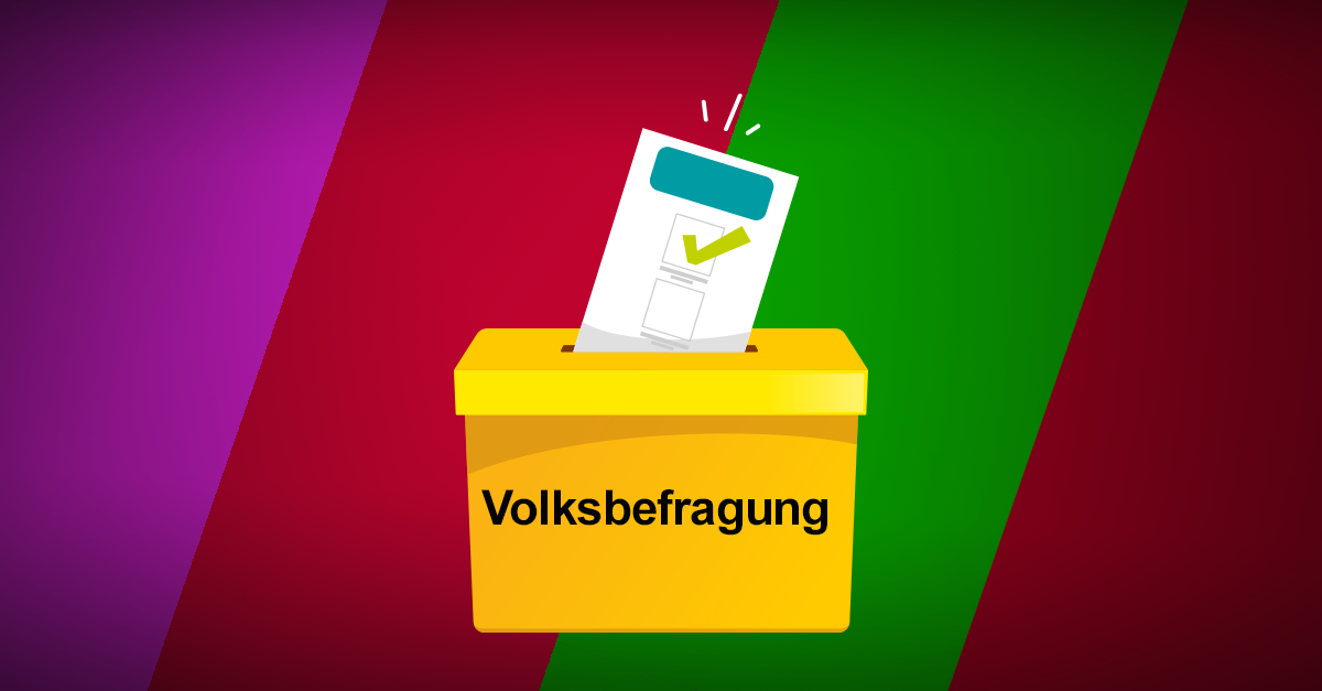 Volksbefragung in Linz als Mittel der Selbstdarstellung