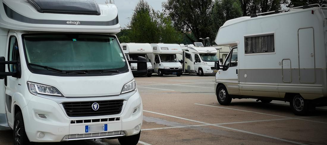 Wohnmobilparkplatz in Linz