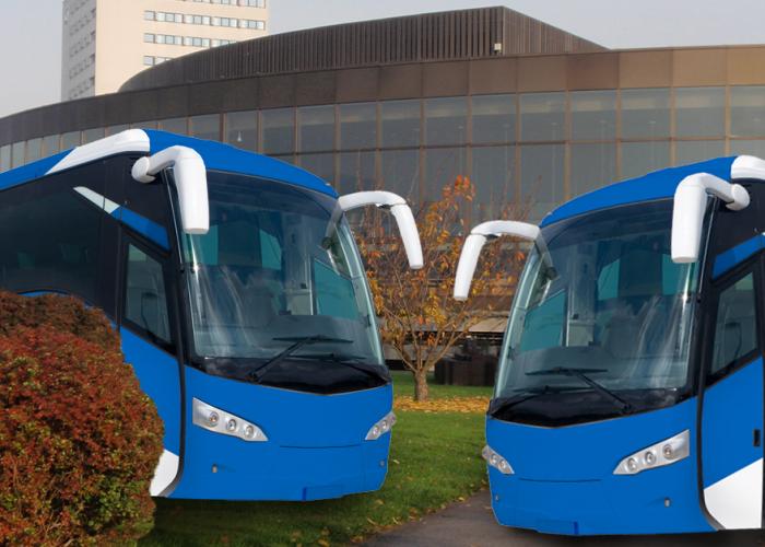 Das Brucknerhaus ist kein Bus-Wartehäusl!