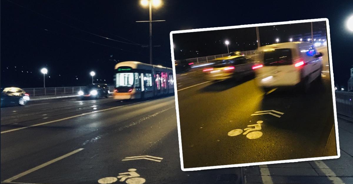 Klima-Aktivisten gefährden mit Schmieraktion das Leben von Radfahrern