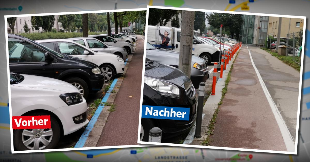 Poller sorgen für freie Fahrt und Sicherheit auf Radwegen.