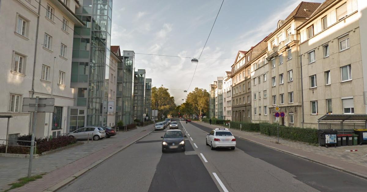 In der Gruberstraße in Linz soll eine neue Busspur entstehen.