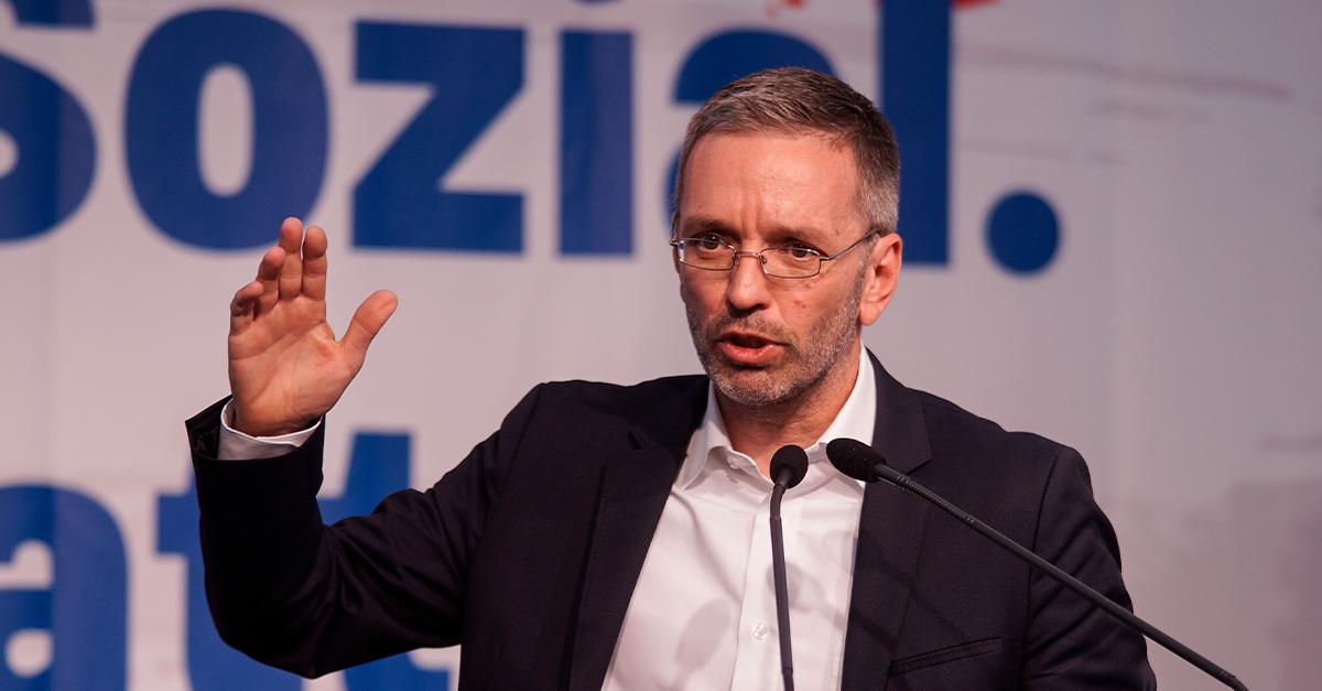 Herbert Kickl (FPÖ) Vorzugsstimmenkaiser in Linz