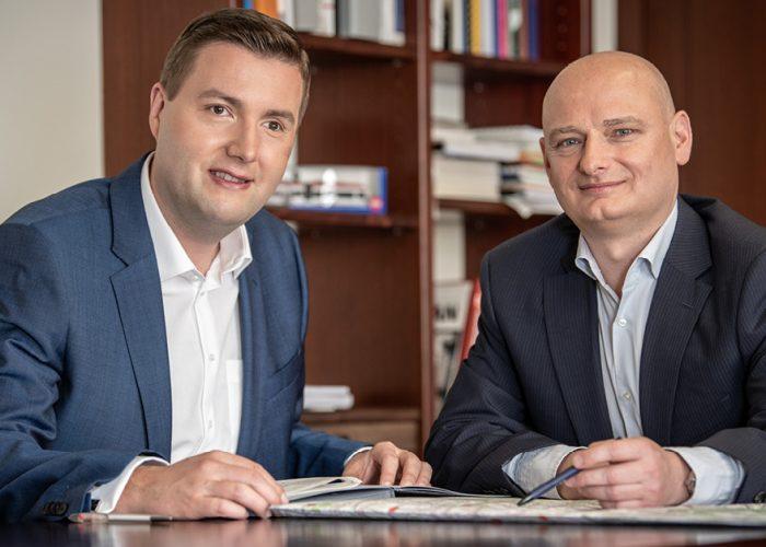 Stadtrat Michael Raml und Vizebürgermeister Markus Hein.