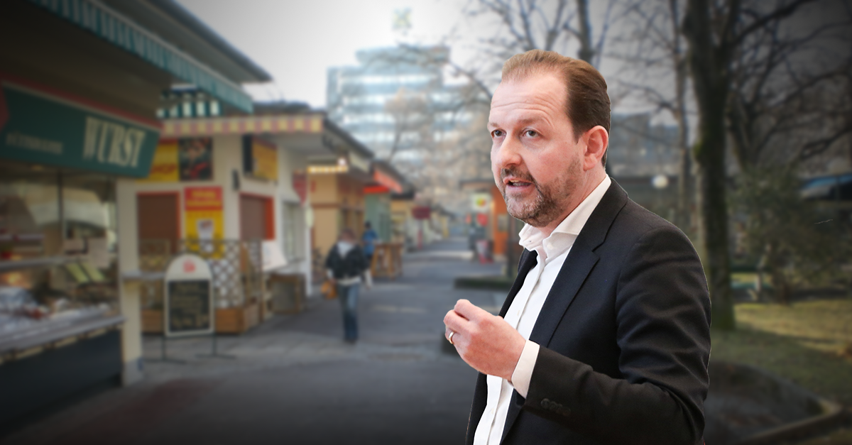 Neugestaltung des Südbahnhofmarktes bleibt reine Ankündigungspolitik