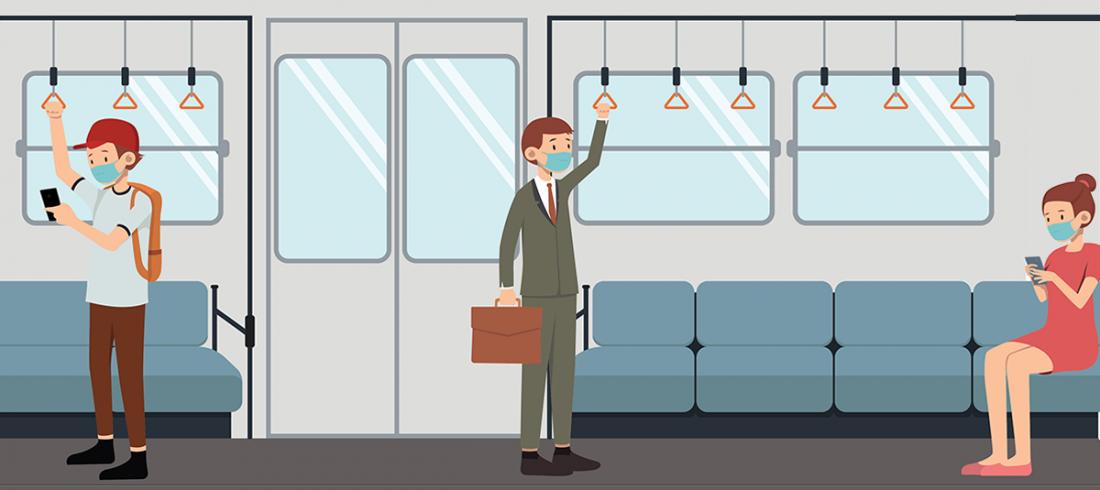 Mund-Nasen-Schutz in öffentlichen Verkehrsmitteln ist zu begrüßen